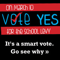 A vote YES for the levy March 10 is a vote for our kids' future - and that's just good sense. See more at VoteOurSchools.org»